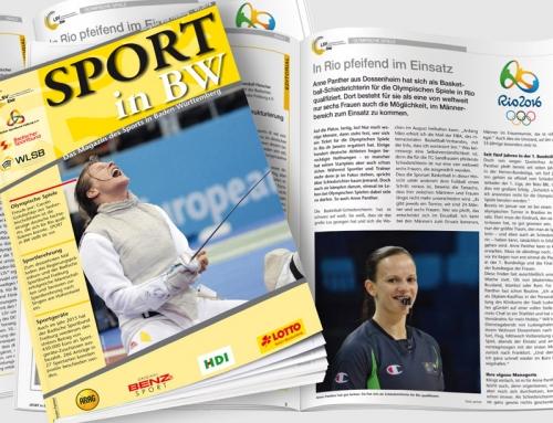 Neueste Ausgabe von <em>Sport in BW</em> veröffentlicht