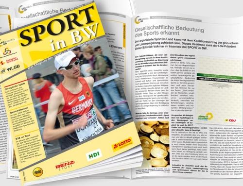 Themen in der Juni-Ausgabe von <em>Sport in BW</em>