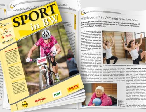 Neueste Ausgabe von <em>Sport in BW</em> erschienen