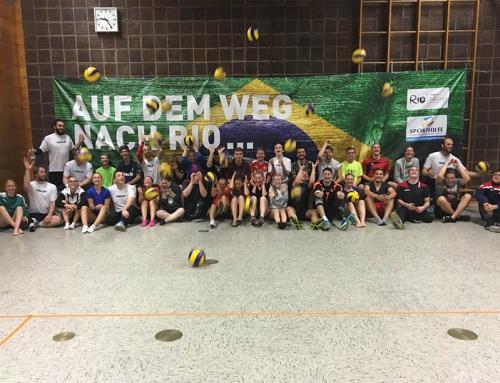 FSJ'ler meets Sitzvolleyball-Nationalmannschaft