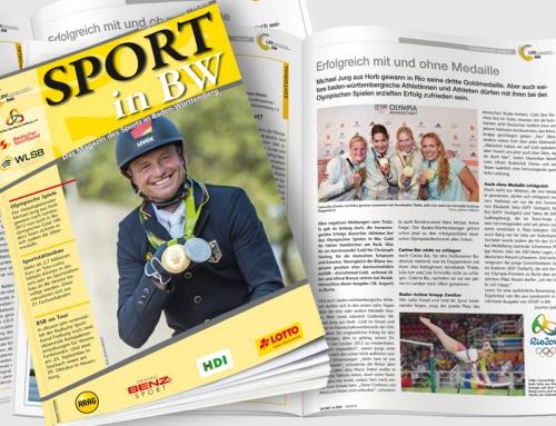 Themen in der September-Ausgabe von <em>Sport in BW</em>