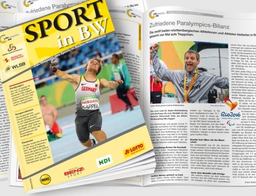 Oktober-Ausgabe von <em>Sport in BW</em> erschienen