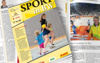 Sport in BW Ausgabe November