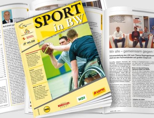 Themen der Dezember-Ausgabe <em>Sport in BW</em>