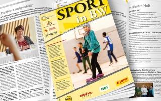Januar-Ausgabe von Sport in BW