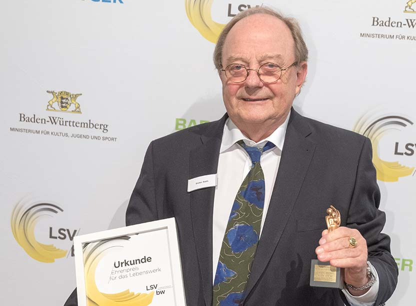 Trainer des Jahres 2016 - Auszeichnungsfeier des Landessportverbandes