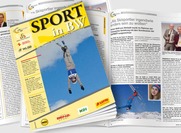Sport in BW Ausgabe März 2017