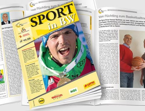 Themen der April-Ausgabe <em>Sport in BW</em>