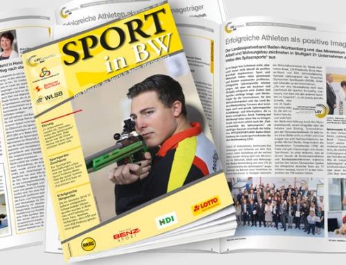 Mai-Ausgabe von <em>Sport in BW</em> erschienen