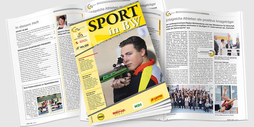Sport in BW Ausgabe Mai 2016 - Das Magazin des Sports in Baden-Württemberg