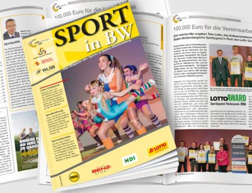 Themen der Juni-Ausgabe von <em>Sport in BW</em>