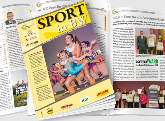 Abbildung Magazin Sport in BW Ausgabe Juni 2017