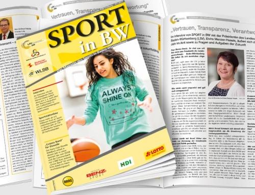 Juli-Ausgabe von Sport in BW erschienen