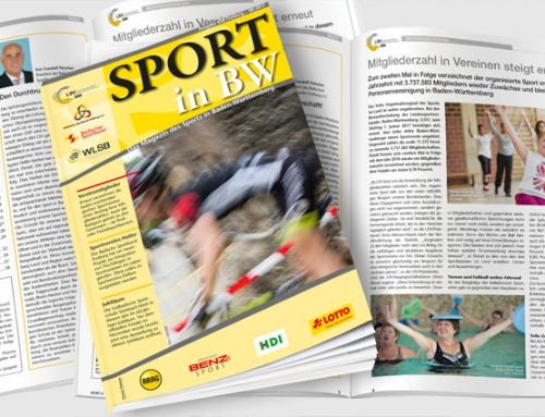 Sport in BW – Ausgabe August erschienen