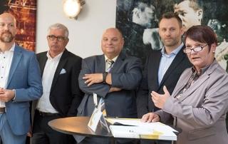 Konstituierende Sitzung des Leitungsstabes für die Olympiastützpunkte Baden-Württemberg