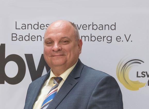 Jürgen Scholz, Vorsitzender des LSV-Präsidialausschusses Leistungssport