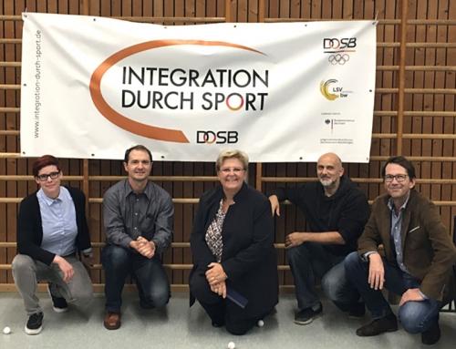 Bundestagsabgeordnete beim Stützpunktverein DJK Stuttgart zu Gast