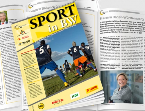 Sport in BW für Oktober erschienen