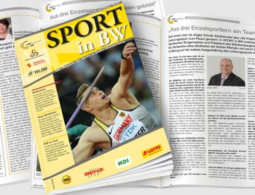 September-Ausgabe von Sport in BW erschienen