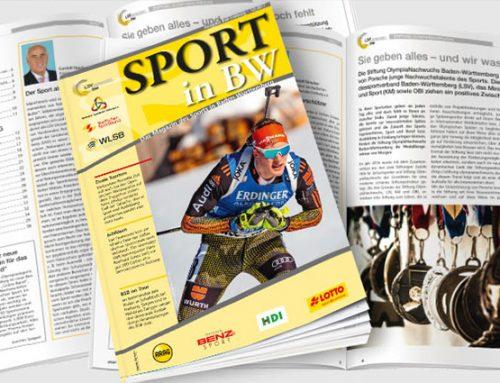 Sport in BW: Dezemberausgabe