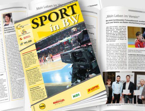 Erste Ausgabe 2018 von Sport in BW