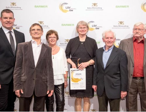 Trainer des Jahres beim Trainerpreis Baden-Württemberg 2017 ausgezeichnet