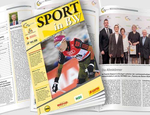 Februarausgabe von Sport in BW erschienen