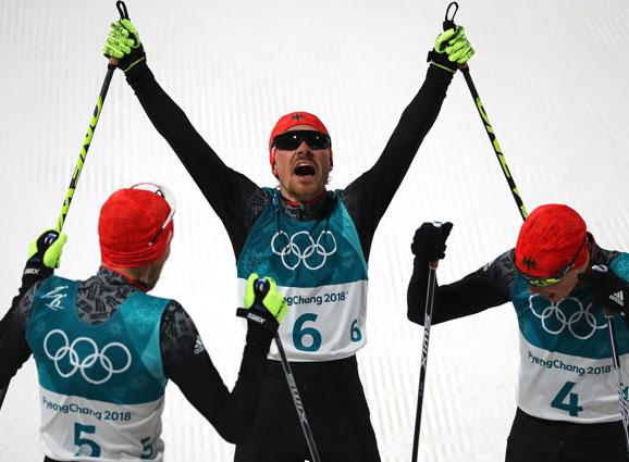 Der Schwarzwälder Fabian Riessle gewinnt die Olympische Silbermedaille in der Nordischen Kombination