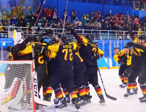 Deutsches Eishockey-Team zieht ins Olympia-Halbfinale ein
