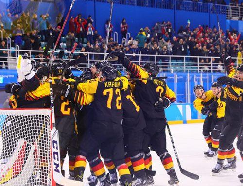 Deutsches Eishockey-Team zieht ins Halbfinale ein