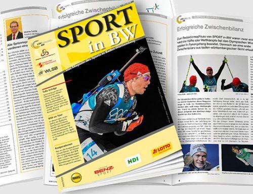 März-Ausgabe von Sport in BW erschienen