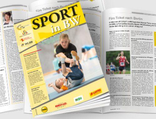 Mai-Ausgabe von Sport in BW erschienen