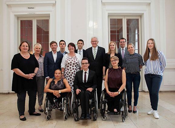 Empfang Für Die Olympiateilnehmer Aus Bw Landessportverband Baden