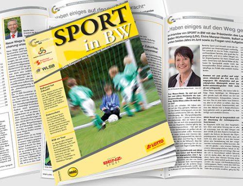 Sport in BW: Juni-Ausgabe