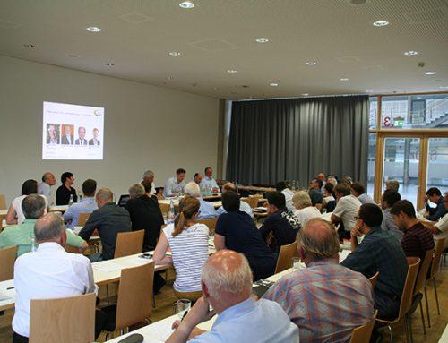 Geschäftsführertagung im SpOrt Stuttgart