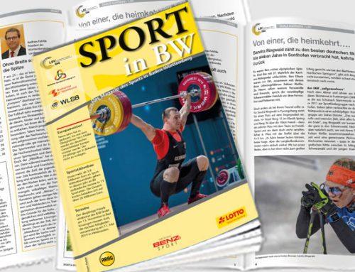 Sport in BW: Juli-Ausgabe