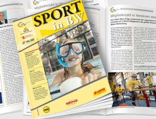 August-Ausgabe von Sport in BW erschienen