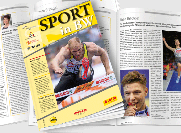 Sport in BW - Ausgabe September 2018