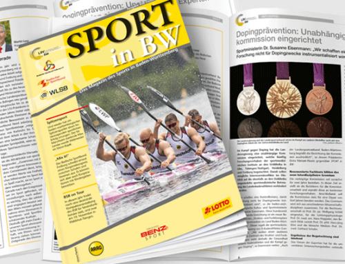 Oktober-Ausgabe von Sport in BW erschienen
