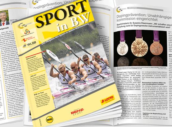 Sport in BW - Ausgabe Oktober 2018