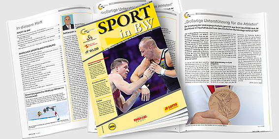 Sport in BW - Das Magazin des Sports in Baden-Württemberg; Ausgabe Dezember 2018