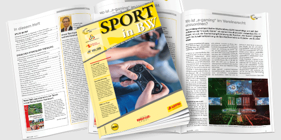 Sport in BW - Das Magazin des Sports in Baden-Württemberg; Ausgabe November 2018