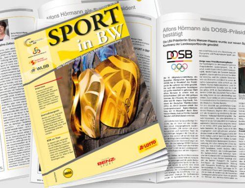 Erste Ausgabe 2019 von SPORT in BW erschienen