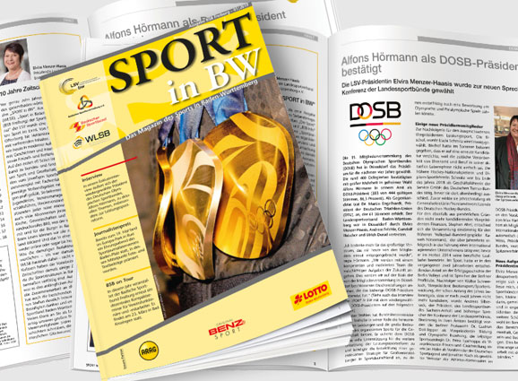 Sport in BW - Das Magazin des Sports in Baden-Württemberg