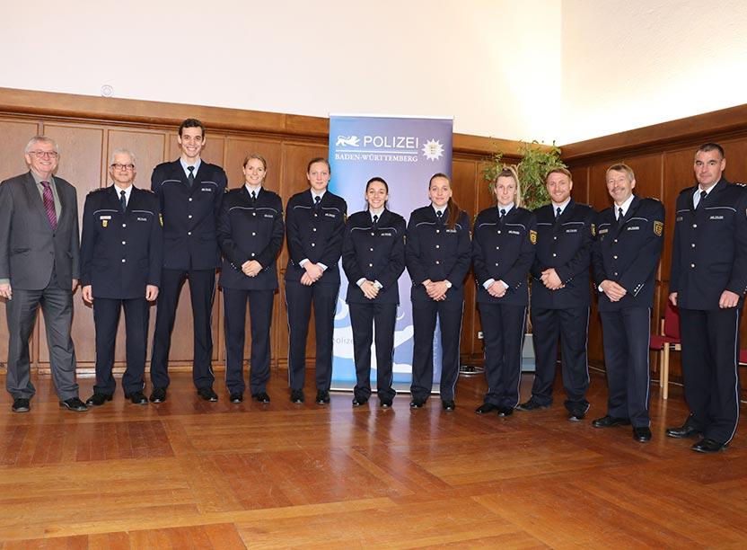 Erfolgreiche Polizeisportler/innen aus Baden-Württemberg geehrt