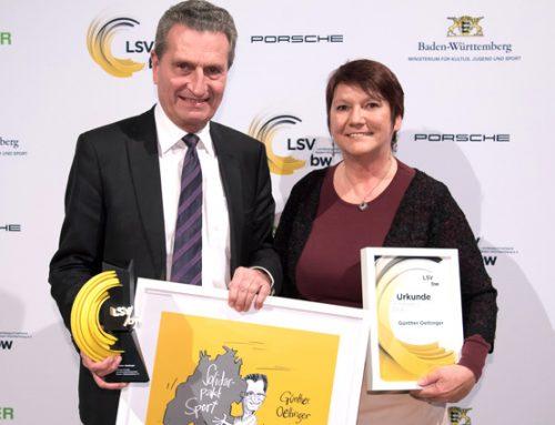 Baden-Württembergs Trainer des Jahres beim Trainerpreis 2018 ausgezeichnet