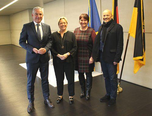 LSV-Präsidentin Elvira Menzer-Haasis zu Gast im Innenministerium
