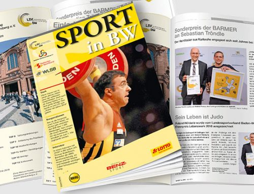 Die März-Ausgabe 2019 von Sport in BW veröffentlicht