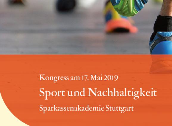 Kongress Sport und Nachhaltigkeit in Stuttgart