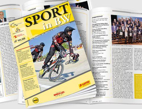 Die April-Ausgabe 2019 von Sport in BW veröffentlicht